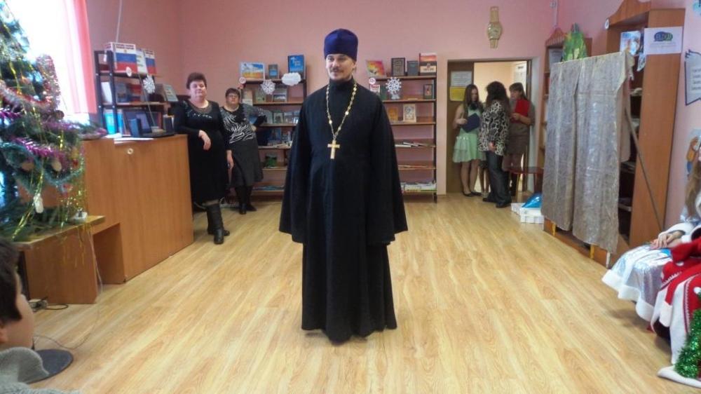 Рождественский утренник в с.Курасовка.11 Январь 2015