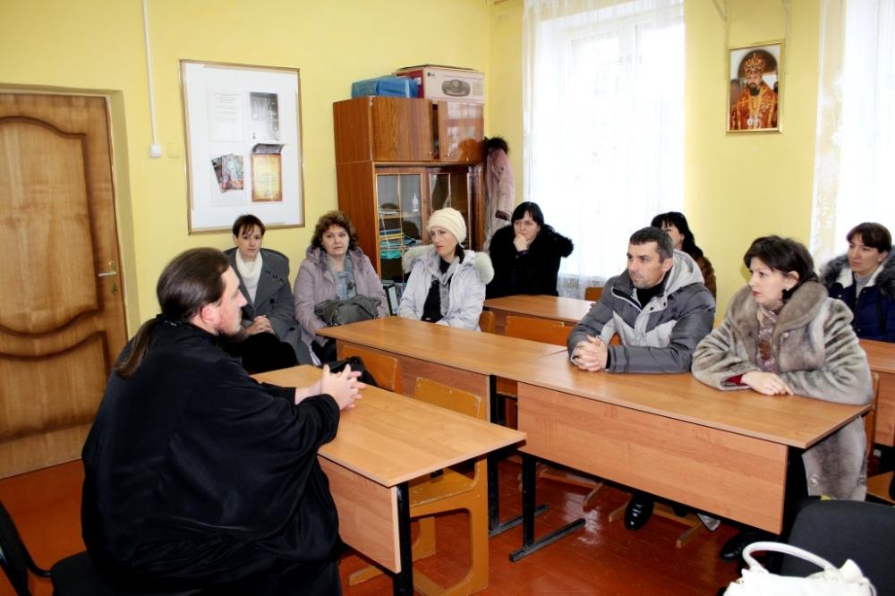 Родительское собрание в воскресной школе.29 Декабрь 2014