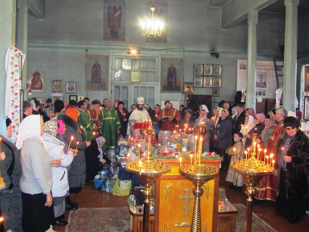 Праздник «Крещение Господне» в с. Песчаное19 Январь 2015