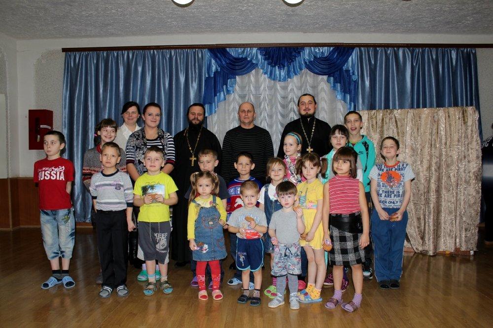Концерт для детей в социально-реабилитационном центре п.Ивня25 Январь 2015