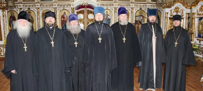 Собрание духовенства Ивнянского благочния