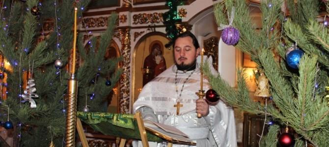 Празднование Рождества Христова в п. Ивня