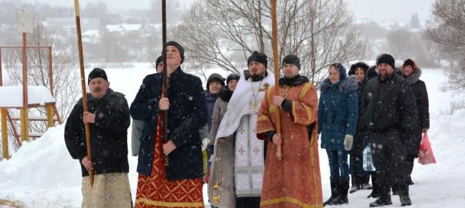 Крещение в п.Ивня
