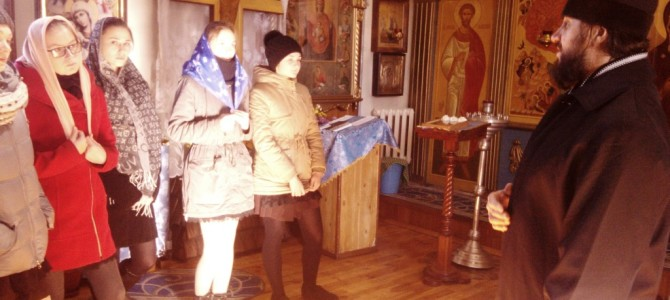 Встреча — беседа для молодежи « Азы православия-в  чем смысл жизни человека?»