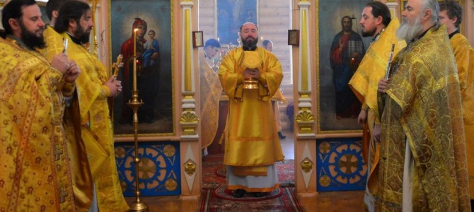 День памяти апостола Андрея Первозванного в с. Песчаное