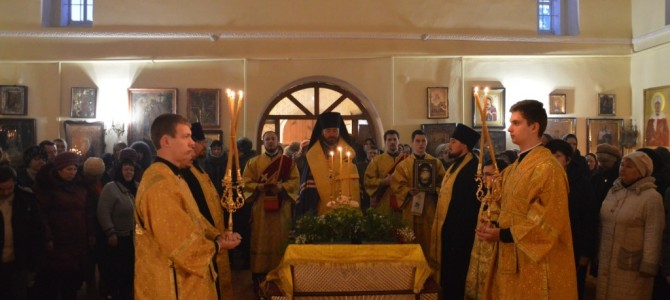 День памяти святителя Николая Чудотворца в п.Ивня