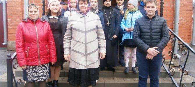 Встреча духовенства с обучающимися Федчевской школы.