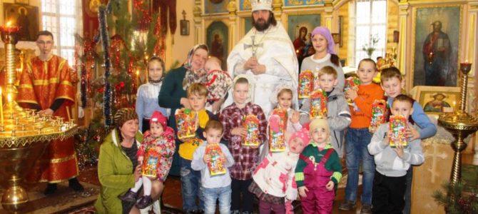 Рождество Христово в  Песчаном.
