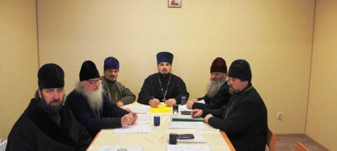 Собрание духовенства Ивнянского  благочиния.