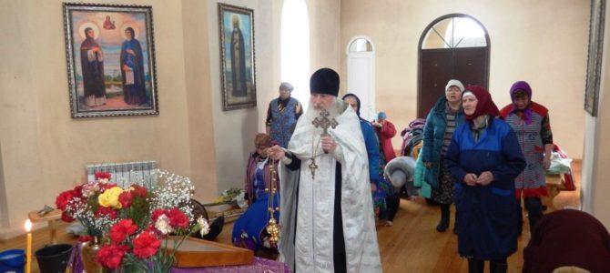 Панихида по жертвам трагедии в Кемерово.