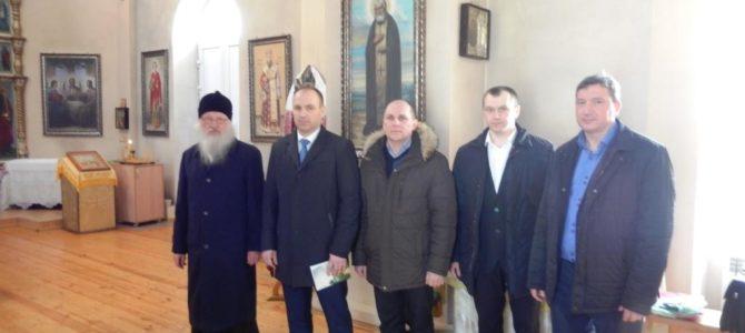 Встреча в Новеньком.