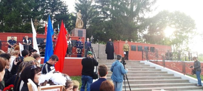 Празднование Дня Победы в Ивне.