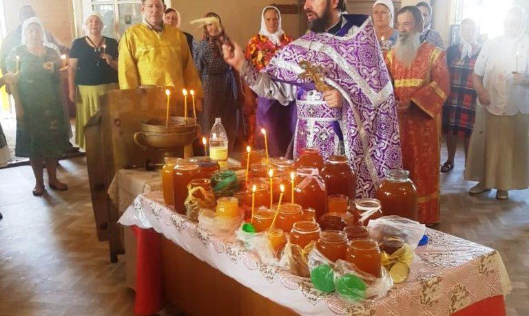 Медовый Спас в Песчаном.