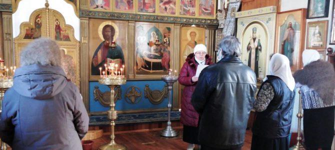 Встреча в Успенском храме с.Верхопенье.